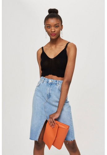 Shop TOPSHOP Petite Scallop Edge Bralet Online on ZALORA ... 7834e4fdc