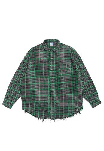 Twenty Eight Shoes Simple Casual Plaid Long Shirt 7023W21 2E34AAABD79AD3GS_1