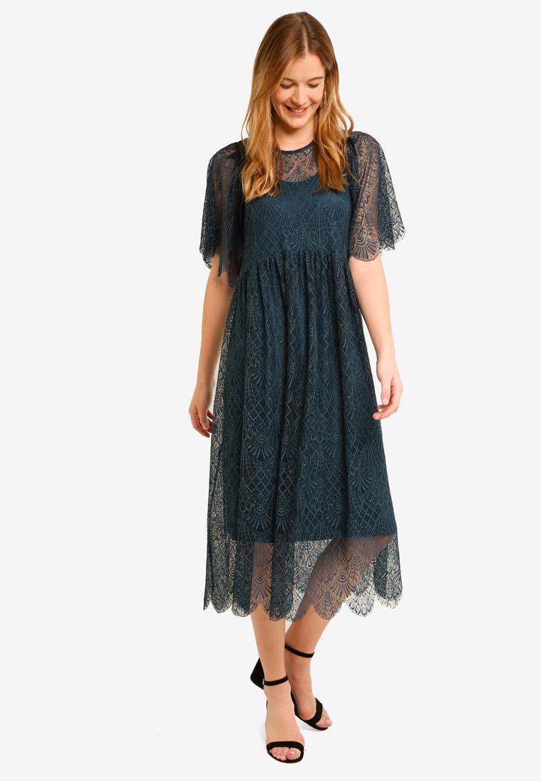 Asta Dress Sleeve A Reflecting S Short Pond Y 4q41TcF8