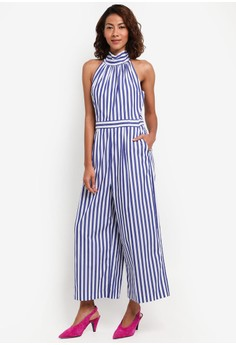 Hallelujah Jumpsuit Stripe Shirting