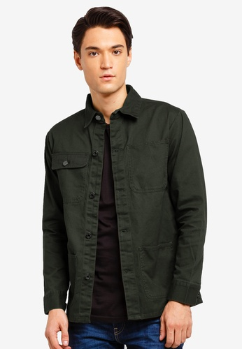 Brave Soul 綠色 休閒襯衫外套 0DDDAAAC2442ADGS_1