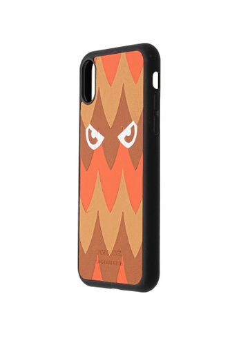 POROLUXE orange PHONE CASE FOR IPHONE XR 19D10AC519A6CAGS_1