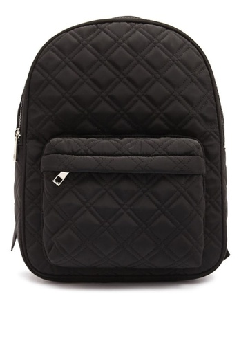 e8019074a Buy FOREVER 21 Quilted Woven Backpack Online on ZALORA Singapore