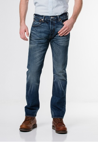 Levi's blue Levi's 501 Original Fit Jeans LE815AA48HOPMY_1