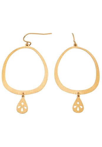 Pastiche gold Clover Earrings 37D4BAC26C8E43GS_1