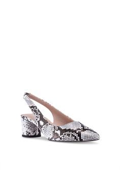 60a0f7a5d74c Dorothy Perkins Snake Daphy Slingback Court Heels RM 159.00. Sizes 3 4 5 6 7