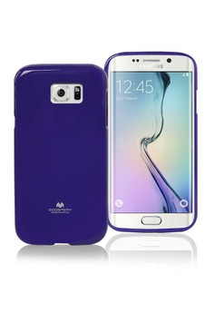 Color Pearl Jelly Case for Samsung Galaxy S6 Edge
