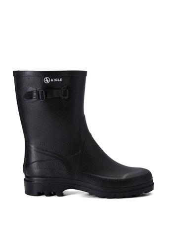 Aigle black Icare Ankle Boots B4E44SH491BFC3GS_1