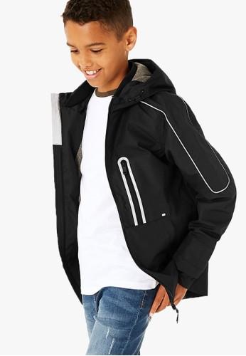 MARKS & SPENCER black BTS Tech Jacket 09FDFKAF43813AGS_1