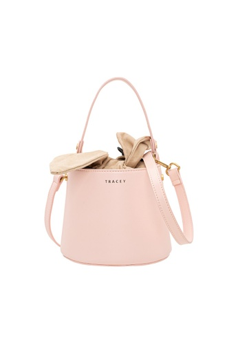 Tracey pink Tracey Limited Rabbit Bucket Bag 9C72FACE42BBF4GS_1