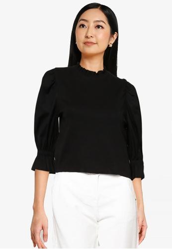 ONLY black Lufia Puff Sleeve Top CCB66AAEB3697AGS_1