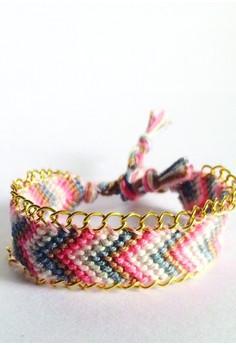Embellished Chevron Bracelet
