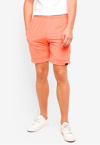 UniqTee orange Jogging Style Bermuda Shorts 85CADAA8B9F6DDGS_1