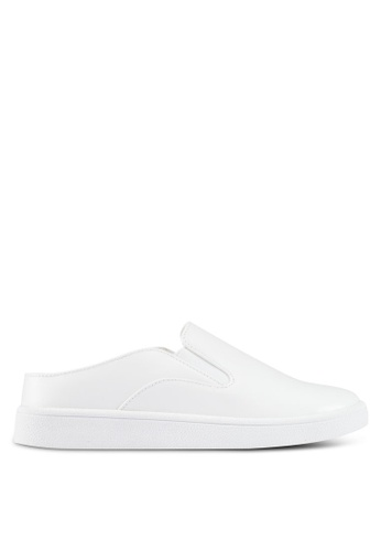 ZALORA white Slip-On Sneakers 590CCSHE2B784EGS_1