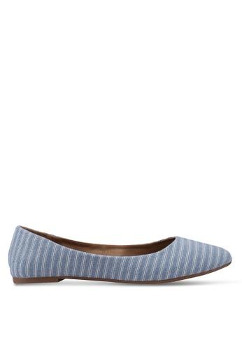 Rubi 藍色 Britt Ballet Flats DE27BSHDA68124GS_1