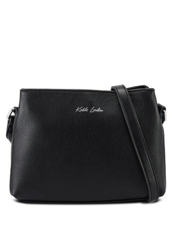 Keddo black Sabina Sling Bag 5A1EAAC918BCA7GS_1