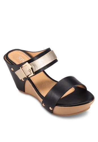 Strappy Wedges,esprit招聘 女鞋, 楔形涼鞋