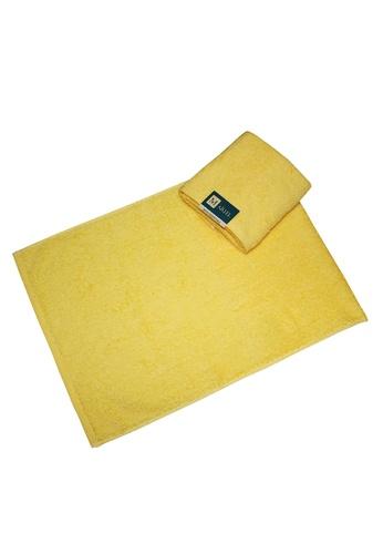 Martel yellow Martel Basic Hand Towel 3F678HLE273251GS_1