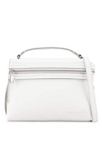 Calvin Klein white Pebbled Crossbody Bag - Calvin Klein Accessories 3ADEBAC32AAD09GS_1
