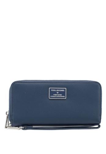 Shop Perllini Mel Faux Leather Wristlet Long Wallet Online on ZALORA  Philippines 0764c21564e47