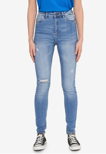 Noisy May blue Callie Chic Skinny Jeans D0DACAA867857FGS_1