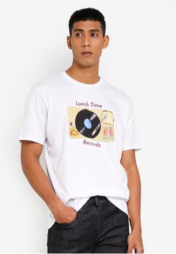 Cotton On 白色 印花T恤 F7B84AA72293E3GS_1
