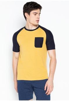 d78c34467 REIN & PAUL gold Raglan Short Sleeve T-shirt 9033FAA2F744D9GS_1