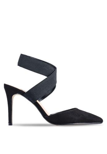 Dorothy Perkins 黑色 Black Eliza Court Heels 38D7BSHBE7A45FGS_1