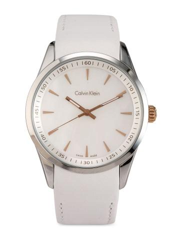 Calvin Klein Watches 白色 經典質感手錶 F622BAC5422747GS_1