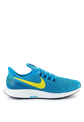Nike blue and multi Nike Air Zoom Pegasus 35 Running Shoes 1365FSH280E779GS_1