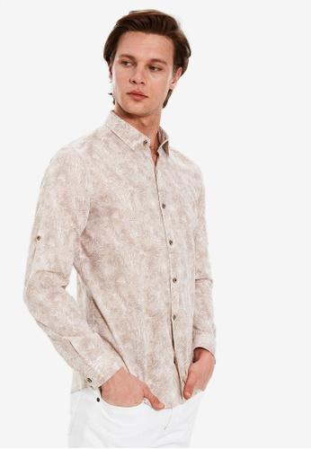 LC Waikiki beige Long Sleeve Shirt 95B99AA7CFBEA5GS_1