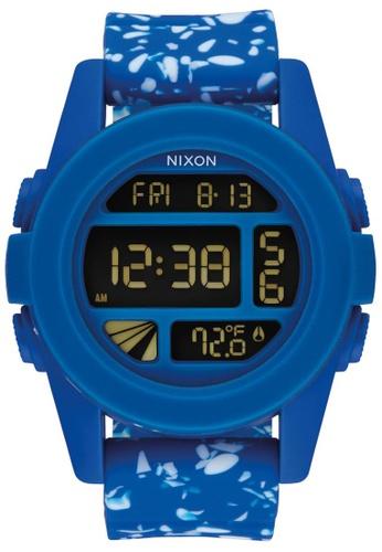 Nixon blue and multi Nixon - Unit - Cobalt Speckle NI855AC37KGSSG_1