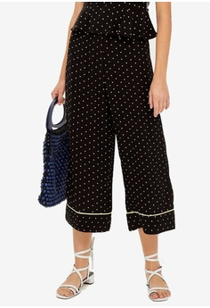 8044a9eb3397 Shop TOPSHOP Cropped Pants for Women Online on ZALORA ...