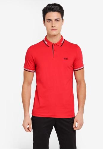 BOSS red Paul Polo Shirt - Boss Athleisure BO517AA0SRAVMY_1