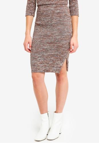 ICHI multi Tita Skirt 020ACAAD12B900GS_1