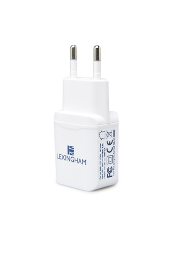 Travel Blue white Lexingham Android Charger 1 USB Port 1.A  L5460 F8E9FAC3F2EC4BGS_1
