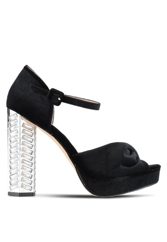 Dorothy Perkins black Black Briony Heeled Sandals DO816SH0SD5DMY_1