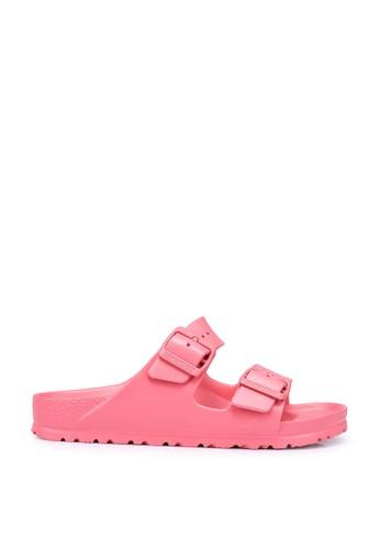 Birkenstock pink Arizona EVA Sandals 82AC8SH19582C8GS_1