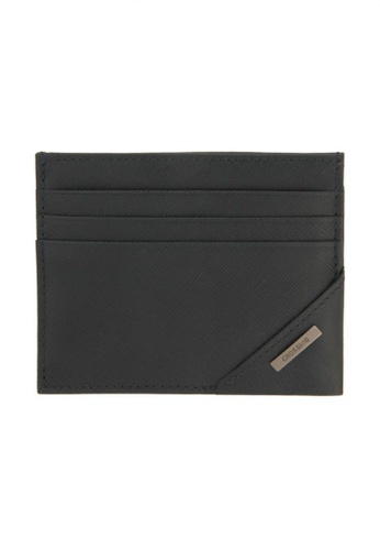 CROSSING black Crossing Riforma Bi-fold Coin Pouch With Card Case - Ink C5468AC540A284GS_1