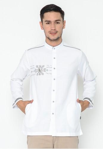 AL-LUTHFI white Koko Panjang Zulfakar 112E6AA87EE013GS_1