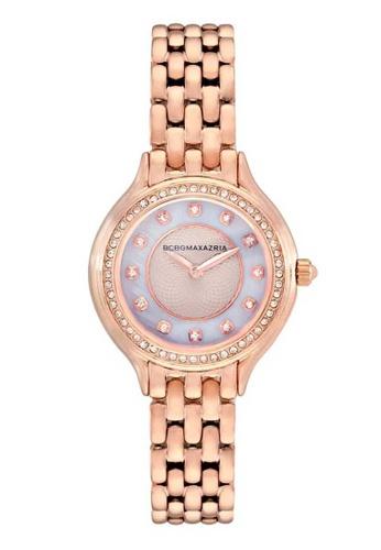 BCBG pink BCBGMAXAZRIA BG50999003 Rose Gold Stainless Steel Watch 2CE1BACA7C36F2GS_1