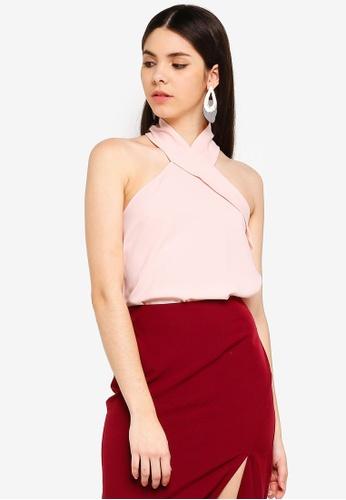 Vesper pink Vesper Odessa Top With Collar 95496AA01276BCGS_1
