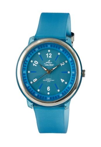 UniSilver TIME blue Unisex Stretzer Analog Rubber KW2318-2002 Watch UN802AC0KTD8PH_1