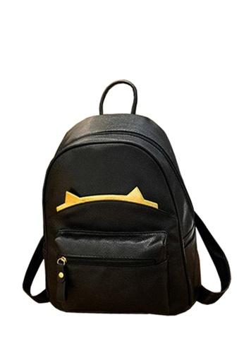 TCWK black Ladies Backpack TC258AC31QZGMY_1