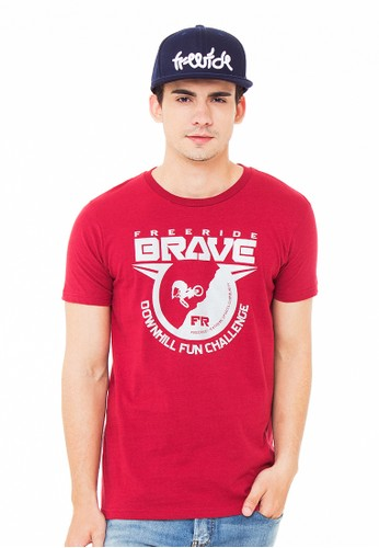 Brave Red Tee