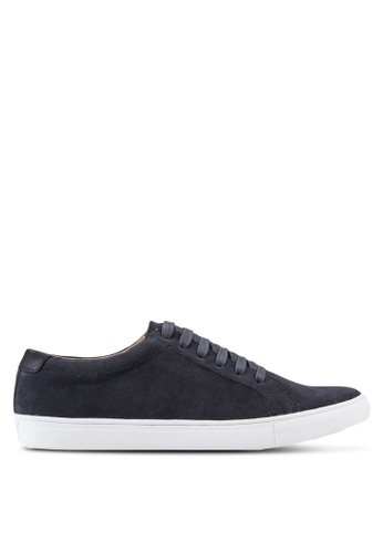 Topman navy Foster Sneakers TO413SH41RTEMY_1