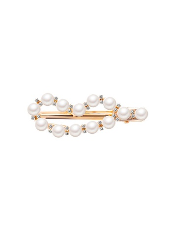 Glamorbit white Pearl Hair Clips 3F267AC31A7DE8GS_1