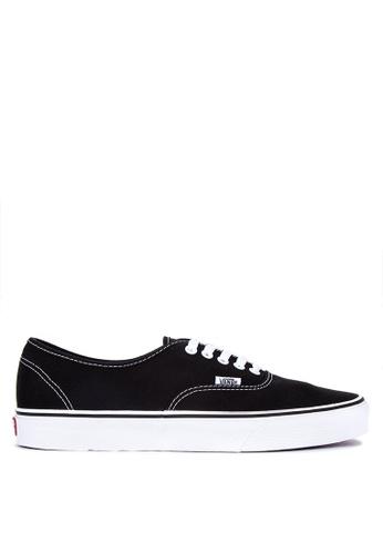 Vans black Authentic Sneakers 37559SH013DD24GS_1