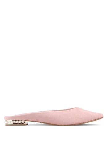 VINCCI pink Slip on Heels 944F8SH5E7F4ECGS_1