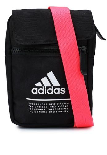 ADIDAS black classic organizer bag 52AA8ACEE69430GS_1